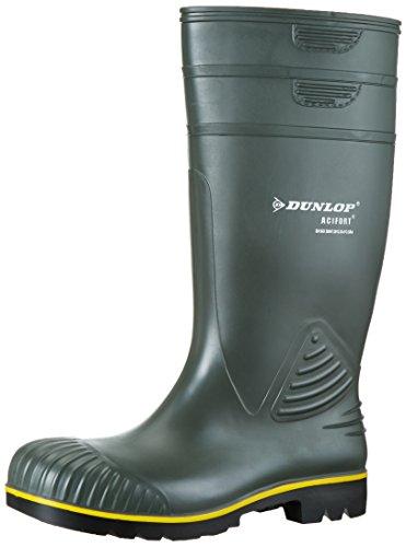 Dunlop B440631 Acifort KNIE 45, Botas de Estar por casa Unisex Adulto, Verde-Grün (Grün(Groen) 08), EU