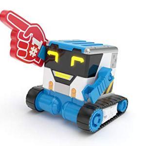 Really R.A.D Robots 27805 Mibro - Really Rad Robots, Interactive Remote Control Robot - Plays, Talks, and Pranks, Multicolor