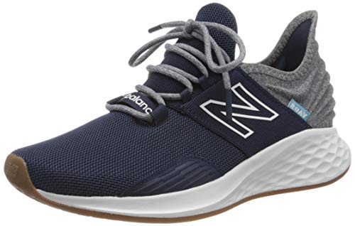 New Balance Men's Fresh Foam Roav V1 Lace-up Sneaker, Natural Indigo/Light Aluminum, 12 M US