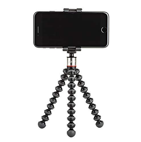 JOBY GripTight ONE GP Treppiede Supporto Telefono Universale/Treppiede GorillaPod Flessibile per Smartphone e iPhone, JB01491-0WW