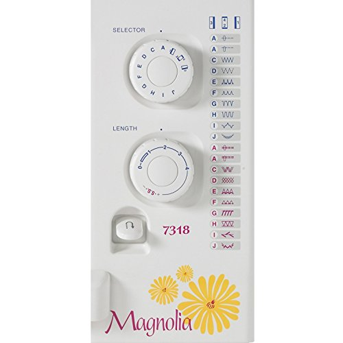 Product Image 1: Janome Magnolia 7318 Sewing Machine with Package