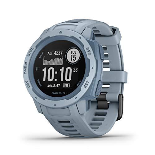 Garmin Instinct - Reloj con GPS, Unisex, Azul Cielo, 1