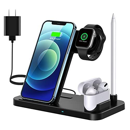 QI-EU Caricatore Wireless, Caricabatterie Wireless...