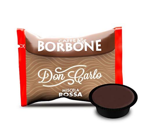 Caffè Borbone Don Carlo Miscela Rossa - Confezione da 100 Capsule - Compatibili con macchine a marchio Lavazza* A Modo Mio*