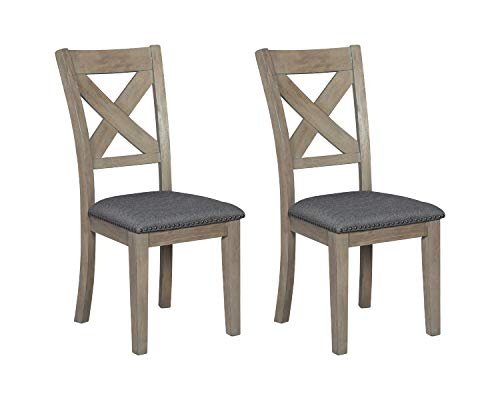 Signature Design by Ashley Aldwin Dining Room Chair, Gray