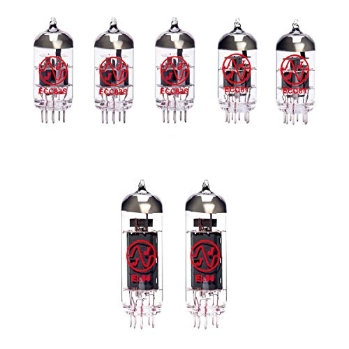 Replacement Valve Kit for Jet City 2112RC (3 x ECC83 2 x ECC81 2 x Matched EL84)
