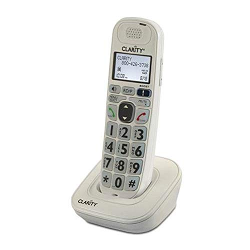 Clarity D704HS Expandable Handset for D724, D714 and D704 Amplified Cordless Telephone (Renewed)