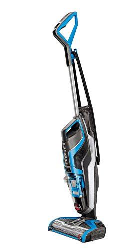 BISSELL CrossWave - Aspirapolvere/Lavapavimenti Multifunzione 3-in-1,  560 watt, 0.82 litri, Blu/Nero/Argento
