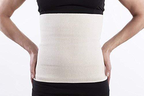 Lauftex, Nierenwärmer Angora & Merino Wolle - für Damen und Herren. Unisex Rückenwärmer und Leibwärmer (L)