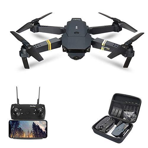 Qiyun Regalo Ideale RC Drone Pieghevole E58 / JY019 WiFi FPV con Videocamera HD Grandangolare...