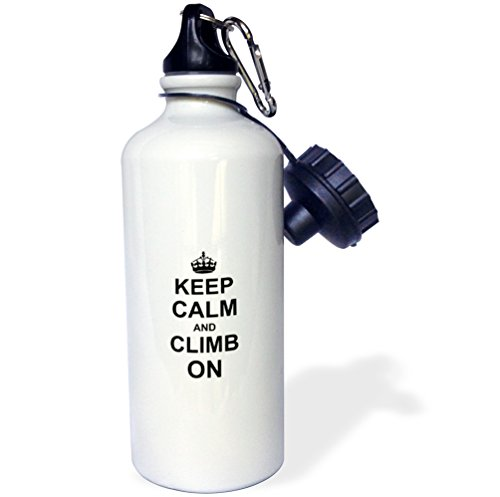 3dRose 'Keep Calm and Climb on-carry on climbing-gift for...