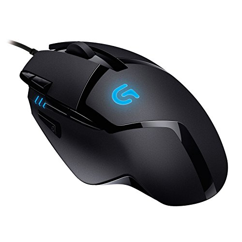 Logitech G402 Mouse da Gioco Hyperion Fury con 8 Pulsanti Programmabili, Nero