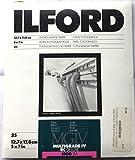 Ilford 1769881 Multigrade IV 1M 13X18 25 Sheets 13 x 18 cm Carta...