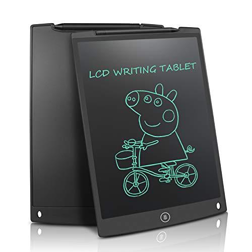 NEWYES Tavoletta Grafica LCD, 12 Pollici Tablet da Disegno Lavagna Elettronica Scrittura Digitale,...