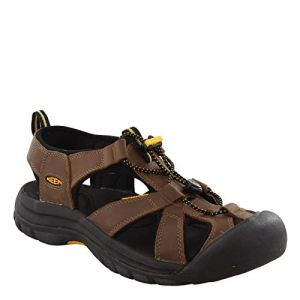 KEEN Men's Venice Closed Toe Leather Sport Sandal