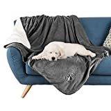 PETMAKER Waterproof Pet Blanket Collection– Reversible Throw Protects Couch, Car, Bed from Spills, Stains, or Fur – Dog and Cat Blankets