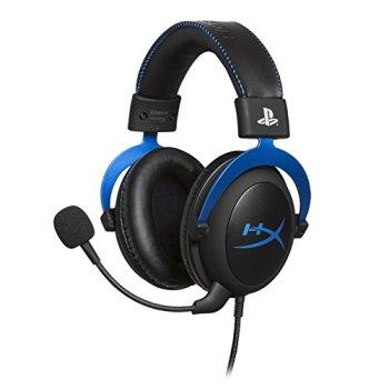 HyperX HX-HSCLS-BL Cloud forPS4 - Casque Gaming pour PS4 avec control audio intégré