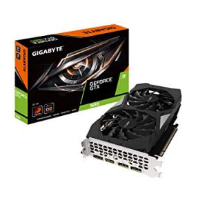 Gigabyte Gv-N1660OC-6GD GeForce GTX 1660 OC 6G Graphics Card, 2X Windforce Fans, 6GB 192-bit GDDR5, Video Card