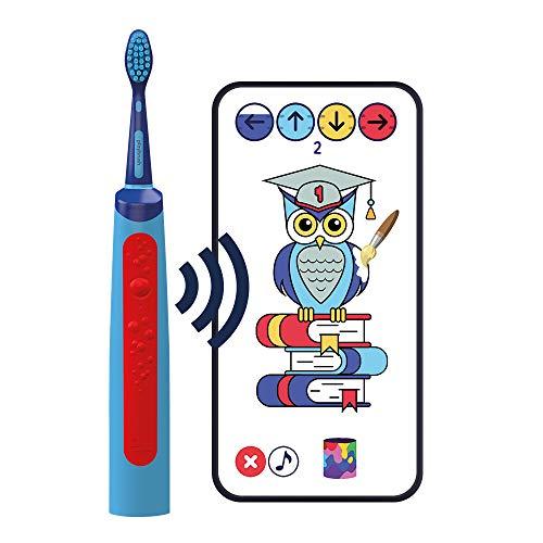 Playbrush Smart Sonic, spazzolino elettrico intelligente per bambini con app di gioco interattiva