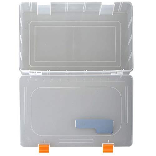 Savage Gear Lure Box 36 x 22,5 x 8 cm, scatola per esche in gomma, wobbler, esche da pesca