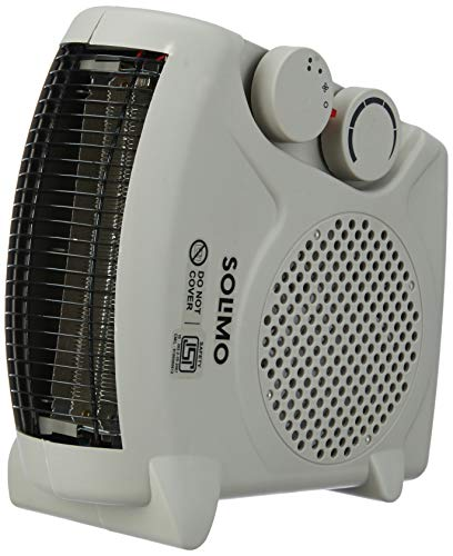 Amazon Brand - Solimo 2000-Watt Room Heater (ISI certified, Beige colour, Ideal for small to medium room/area)