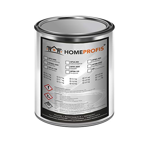 Home Profis® HPSM-100 Feinspachtel auf Epoxidharz Basis (0,75kg)...