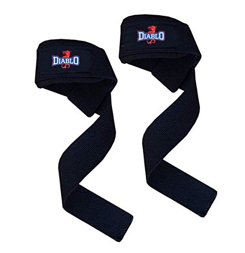 DIABLO Cotton Gym Support/Weight Lifting Hand Bar Strap/Wrist Support for Men & Women (Free Size).