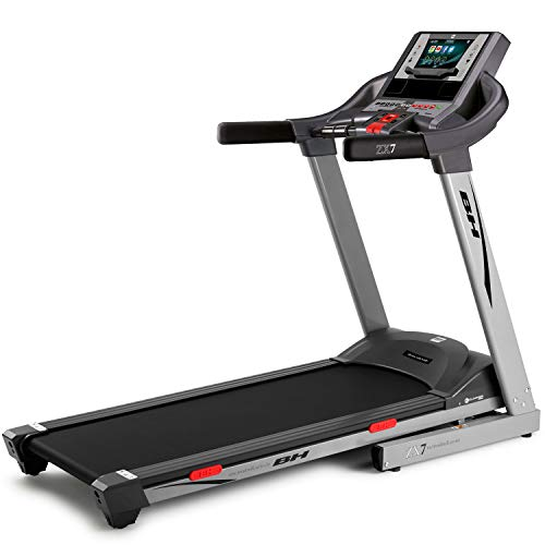 BH Fitness ZX7 TFT G6473TFTRF - Tapis roulant pieghevole, monitor touch screen, 18 km/h, 2,75 CV