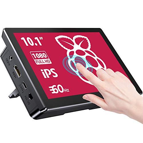 Raspberry Pi 10,1 Pollici Display Touchscreen con Alloggiamento Posteriore