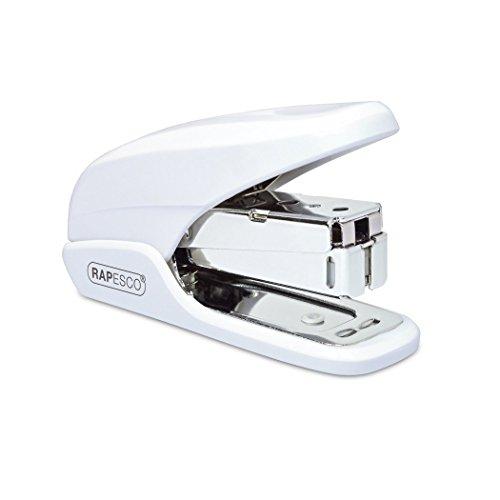 Rapesco Cucitrice da Tavolo X5 Mini. Cuce fino a 20 fogli (80gsm). Colore: Bianco