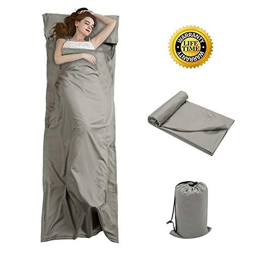 OTDEST Travel and Camping Sheet Sleeping Bag Liner -...