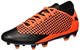 Puma Future 2.4 Fg/AG, Scarpe da Calcio Uomo, Arancione Black-Shocking Orange 002, 44.5 EU
