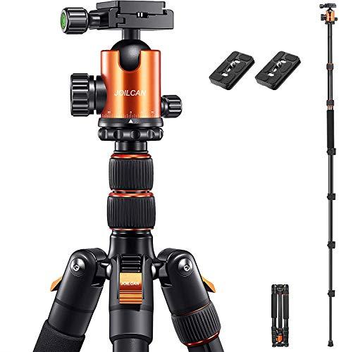 "JOILCAN 81"" Tripod, Aluminum Camera Tripod for DSLR, Compact..."