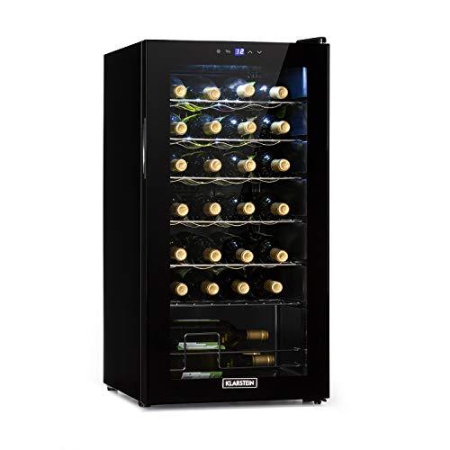 KLARSTEIN Shiraz Uno - Frigorifero Vini, Cantinetta, Frigo Vino, Temperature: 5-18 C, 42 dB,...