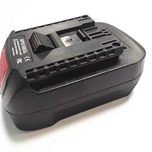 Amazca Converter For Bosch adapter 18V batteries Black decker 20V max to Bosch 18V adapter
