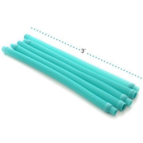 illiard Pool Vacuum Hose - 5 Hoses for Pool/Spa Cleaners,