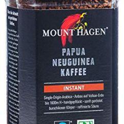 Mount Hagen Bio- und Fairtrade-Instant-Kaffee, Single Origin Arabica 1 x 100g
