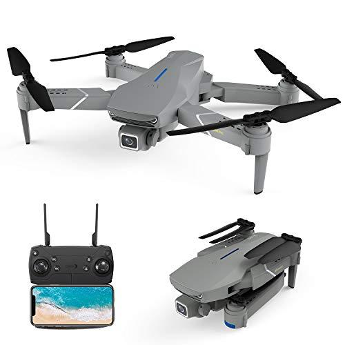 Drone avec caméra Pivot-réglable EACHINE-E520S-PRO 4K HD GPS 5G-WiFi Poids 244g Moteur 25km/h 200m Distances de contrôle Drone Pliable Multifonctionnel