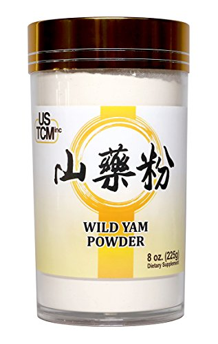 Wild Yam Powder Rhizoma Dioscoreae Powder Chinese Yam Powder Shan Yao Powder 山藥粉 淮山粉 120mesh (8oz)
