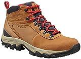 Columbia Men's Newton Ridge Plus II Suede Waterproof Boot - Wide,, elk, Mountain red, 10 US