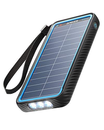 Anker PowerCore Solar 10000 (ソーラーモバイルバッテリー 10000mAh 大容量)【ソーラーチャージャー/防塵/...