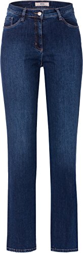 BRAX Damen BX_Carola Straight Leg Jeans, Blau (Used Regular Blue 25),...
