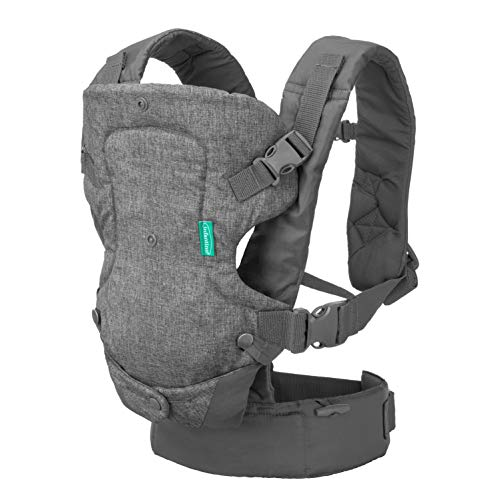 Infantino Flip Advanced 4-in-1 Carrier - Ergonomic, convertible,...
