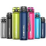 Proworks Bottiglia Acqua a Prova di Perdita | Pallone Sport Scorrimento Ideale per Corsa, Ciclismo & Escursionismo | Bottiglia per Bibite in Plastica Tritan Senza BPA - 1 Litri (36 Once) - Blu Scuro