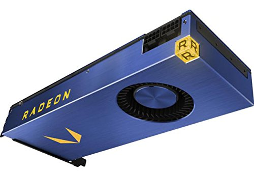 AMD Radeon Vega Frontier Edition - 16 GB HBM2 - air cooled - retail - 64 nCU - 4096 stream processors - 26.2/13.0 T FLOPS - 2048 bit memory interface - 3x display port - 1x HDMI - 300 watt TDP - PCI E