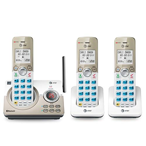 AT&T DL72319 DECT 6.0 3-Handset Cordless Phone for...
