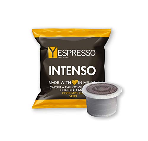 Yespresso 100 Capsule FIOR FIORE Coop, LUI, MITACA MPS, MARTELLO, Aroma VERO - INTENSO