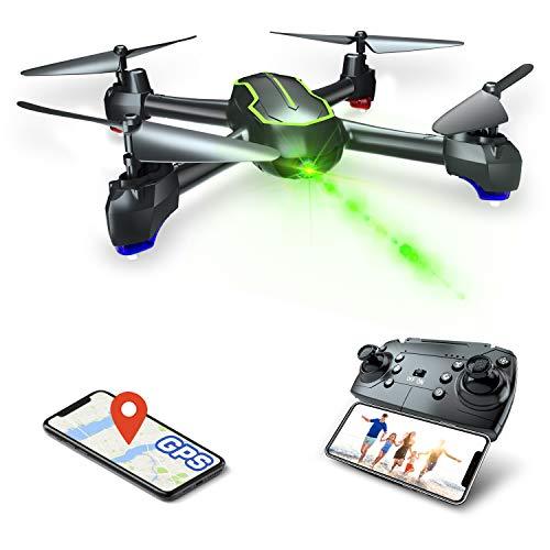 Asbww Drone GPS con Telecamera HD 1080p per Principianti, Quadricotteri RC Droni FPV con GPS...