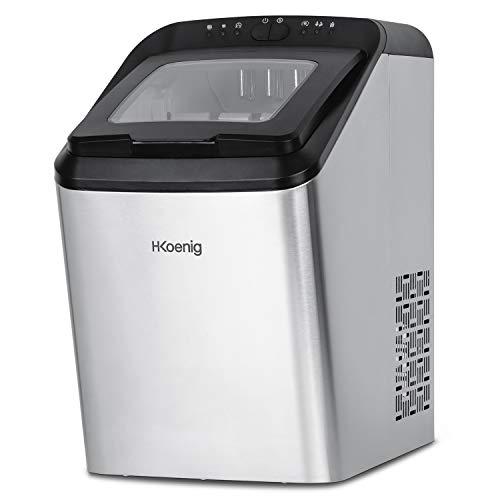 H.Koenig macchina ghiaccio professionale 15kg KBP40
