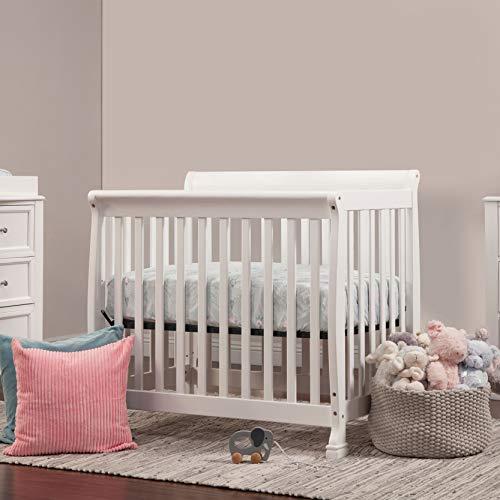 Product Image 3: DaVinci Kalani 4-in-1 Convertible Mini Crib in White, Greenguard Gold Certified